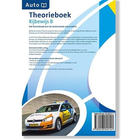 Theorieboek Auto Rijbewijs B achterkant